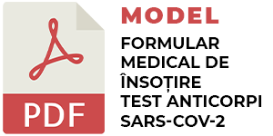 Model completare test Anticorpi SARS-CoV-2