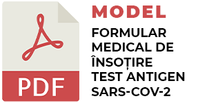 Model completare test Antigen SARS-CoV-2